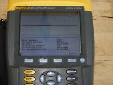Fluke 199C Scopemeter Color Oscilloscope 200MHz 2 5Gs/s + BusHealth