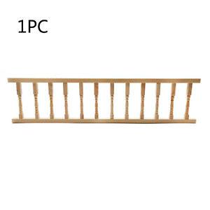 1PC Dollhouse Unpainted Pillars Handrail 1:12 Miniature DIY Accessories