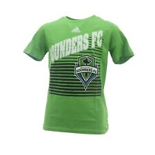 Seattle Sounders FC Official MLS Adidas Apparel Kids Youth Size T-Shirt New Tags