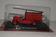 Del Prado Modellauto 1:50 1929 Fire Engine Chevrolet Feuerwehr
