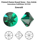 Genuine SWAROVSKI 1185 Pointed Chaton Round Unfoiled Crystals  Many Colors