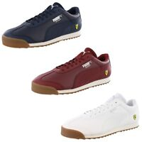 PUMA MEN'S ROMA SF FERRARI CLASSIC RETRO SHOES