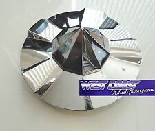 """KMC Condor Chrome Wheel RIM Replacement Center Cap Cover Part#1000144 7 7.5"""""""