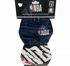 NBA National Basketball Association 2 Pack Reusable Masks OSFA