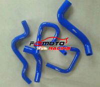 BLUE Silicone Radiator Hose For Ford Falcon BA BF XR6 Turbo 4.0L 2002-2008 06