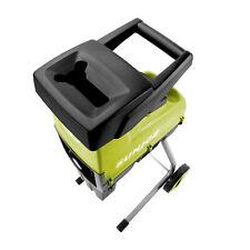 Sun Joe 1.7 In Cutting Diameter Electric Silent Wood Chipper/Shredder   15-Amp