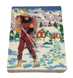 Vtg Ski Barbie Puzzle 100 Pieces Age 5 To 10 Skiing Winter Sport Made In The USA