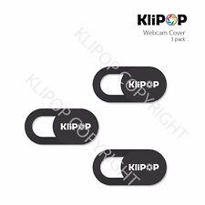 3Pcs/Pack KLIPOP Plastic Webcam Privacy Camera Lens Cover for iPhone/Laptops
