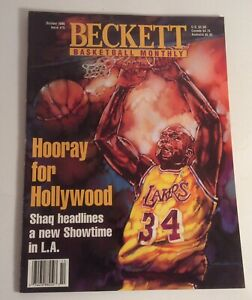 Beckett BasketBall Monthly October 1996 #75 Shaquille O'Neil Cover
