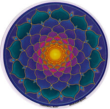 Central Sun Mandala - Window Art Sticker / Decal
