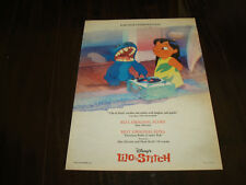 Lilo & Stitch Oscar ad with record player, Disney & Talk To Her Pedro Almodóvar