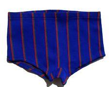 Authentique vintage Short enfant - Bleu  - Rislan - Maillot Bain -T12Ans
