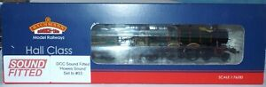 BACHMANN 32-004 HALL CLASS LOCOMOTIVE 4970 'SKETTY HALL' GWR GREEN SOUND FITTED