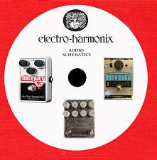 Electro Harmonix Repair Service schematics owner manuals on 1 CD in pdf format