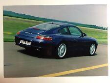 "1999 Porsche 911 Carrera 4 Coupe B&W Press Factory Issued Photo ""Werkfoto"" RARE!"