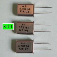 Crystals - 5.76768 Mhz Lot of 3