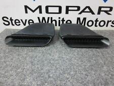 09-14 Dodge Challenger R/T SRT Hood Scoop Scoops Set of 2 Mopar Factory Oem