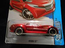 HW HOT WHEELS 2014 HW CITY #5/250 RYURA LX HOTWHEELS DARK RED RACE TRACK READY
