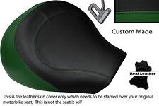 DARK GREEN & BLACK CUSTOM FITS SUZUKI INTRUDER VL 1500 98-04 FRONT SEAT COVER