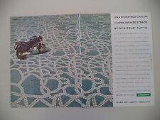 advertising Pubblicità 1995 MOTO CAGIVA RIVER 600