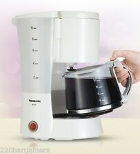 Panasonic 220 Volt 10-Cup Coffee Maker For Europe Asia UK Africa 220V Power Cord