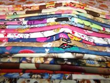 CAT kitten FELINE paw print animal Cotton quilt FABRIC U-Pick 1/2YD or as listed
