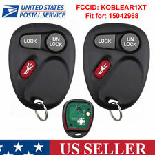 2x Replacement Keyless Entry Key Fob 315mhz Remote Control Clicker for 15042968