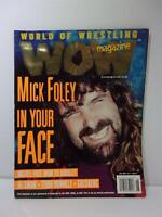 World of Wrestling WOW Magazine Mick Foley In Your Face