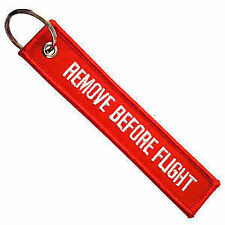 SUZUKI Remove Before Flight Key Chain motorcycle moped lock keychain key ring