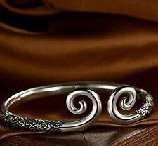 Incantation of the Golden Hoop silver chinese bangle bracelet Monkey King