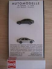 Busch - ref.8319 - 2 Mercedes clase C (gris metalizado)