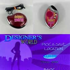 Hasbro Designer's World TV Video Game Plug'N Play 2006 with Remote Tested