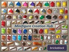 NEW Lego Minifigure (Mini Figure) Parts & Accessories: Torsos (Upper Body)
