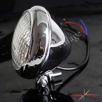 Retro Motorcycle Head Light Lamp Headlight For Vintage Harley Bobber Cafe Racer