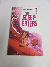 Vtg John Lymington The Sleep Eaters 1971 Macfadden Bartell Sci-fi Paperback