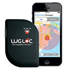 LugLoc Worldwide Lost Luggage Locator Tracker Bag Tag Bluetooth Proximity Alert
