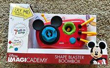 NEW Disney Imagicademy Shape Blaster Boombox