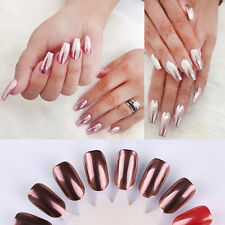 Rose Gold Mirror Nail Powder  Nail Polish Women Nail Art Acces Beauty Decorate