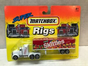 VINTAGE 1994 MATCHBOX SUPER RIGS SKITTLES TRACTOR TRAILER  SEALED