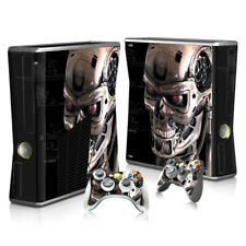 Xbox 360 Slim Sticker Set Protective Skin Console & Controllers - 2099 - Skull