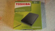 "Toshiba 2 TB/To HDD Disque Dur USB 3.0 Hard Drive 2,5""  NEUF et SCELLE Garantie"