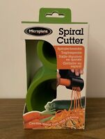 Microplane Spiral Cutter Vegetable Spiral Cuts Ribbons Green Plastic New in Box