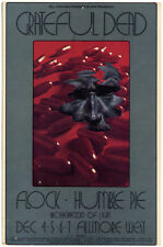 GRATEFUL DEAD HUMBLE PIE Fillmore West Handbill (Dec 4-7th 1969)