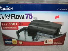NEW  Aqueon Quiet Flow 75 Power Filter 400GPH includes filter Never Used L@@K!!!