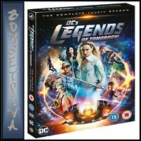 LEGENDS OF TOMORROW COMPLETE SEASON 4 DC  **BRAND NEW DVD ****