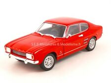 FORD CAPRI 1969 ROUGE 1/24-27 WELLY