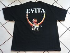 Vintage Evita Shirt Musical Broadway Size XL Men Pre Owned Casa Manana Rare