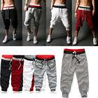 Mens Casual Sport Sweat Pants Harem Baggy Jogging Training Dance Slacks Trousers
