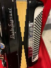 Made in Italy CUSTOM BUILT PAOLO SOPRANI Accordion POWERFUL SOUND.