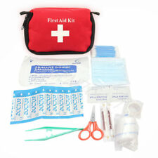 First Aid Kit Travel Emergency Bag for Camping Hiking Boating Hunting and More